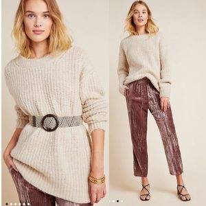 NEW Anthropologie Camila Wool Blend Chunky Sweater